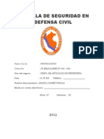 Cartilla de Seguridad FERRECENTER