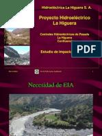 Impacto Ambiental en Una Hidroelectrica