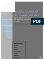 Portfolio Analysis Commercial Vehicles
