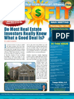 The Profit Newsletter February 2013 for Tampa REIA