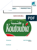 Rapport de Stage Koutoubia