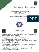 Metody Badan Spolecznych MSD Slajdy