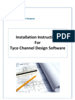 Tyco Channel Design Software Installation Instructions