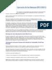 Estrategias de Operación de los Sistemas EFI