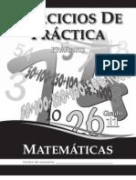 Ejercicios de Práctica_Matemáticas G11_1-17-12