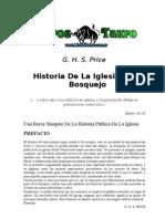 G. H. S. Price - Historia de La Iglesia, Un Bosquejo