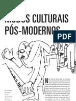 MODOS CULTURAIS PÓS-MODERNOS (Teixeira Coelho)