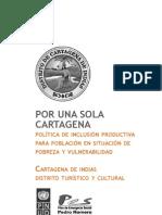 Politica Publica Inclusion Productiva Cartagena