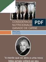 Nutricion Ganado Bovino de Carne