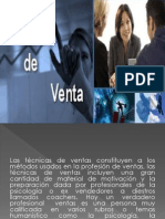 Tecnicas de Ventas. Marketing