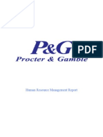 P AND G HRM REPORT.doc