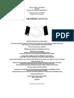 Members Manual February