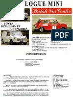 Catalogue austin mini Mini