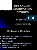Personnel Monitoring Devices