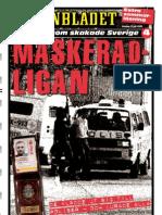 Maskeradligan Brottspecial ur Aftonbladet