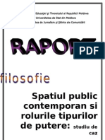 Spatiul Public Contemporan