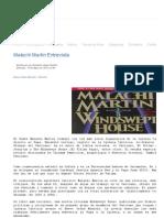 Malachi Martin Entrevista