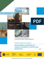 Modelo de Cualificación Profesional - Viveros y Jardines