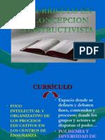 curriculo ENFOQUE CONSTRUCTIVISTA