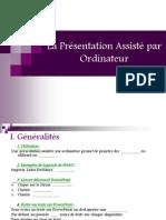 La Présentation Assisté par Ordinateur.ppt