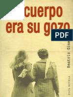 Su Cuerpo Era Su Gozo - Beatriz Gimeno