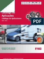 Catálogo FAG 2010 - aplicacoes automotivas