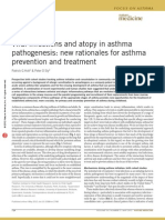 Viral Infections and Atopy in Asthma