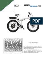 Prodeco Genesis 500 Manual PRO.12V1.GEN .369.500 (1)