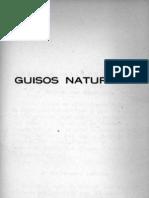 Libro Recetas Cocina Manual de Cocina Vegetariana Chilena Guisos Naturistas