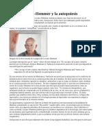 Rafael Lozano-Hemmer y La Autopoiesis