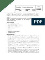 DRPCPE-001 Procedimeinto de Recepcion y Entrega de Check List (2)