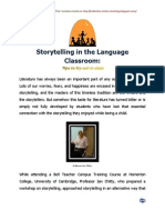 Storytelling in the Language Classroom