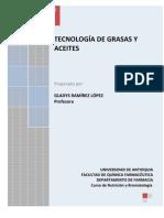 Aceites y Grasas 2008