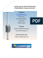 VIVACE Hydrokinetic Energy Converter