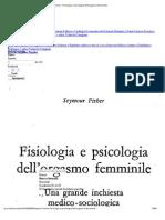 Seymour Fisher - Fisiologia e Psicologia Dell'Orgasmo Femminile