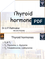 Pharmacology of thyroid hormones