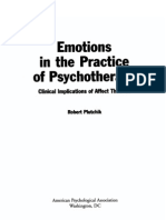 2000 - Emotions in the Practice of Psychotherapy - Plutchik