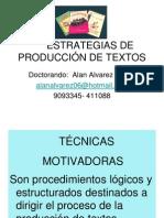 ESTRATEGIAS PRODUCCIÓN DE TEXTOS