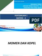 2 Momen Dan Kopel