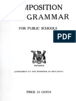 Composition and Grammar for Public Schools