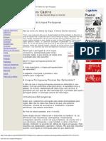 Em Defesa da Língua Portuguesa