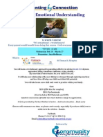 Building Emotional Understanding 6-week Course (Parenting by Connection approach), Plympton, South Australia