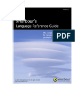 xHarbour Language Reference Guide (Version 1.1)