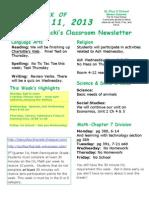 February 11 Newsletter