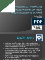 Penyusunan SOP Lab Mikrobiologi