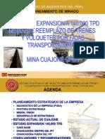 Planeamiento en Cuajone-SOUTHERN PERU