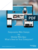 Responsive Web Design vs. Mobile Web App What is Best for Enterprise Whitepaper by RapidValue Solutions (1)
