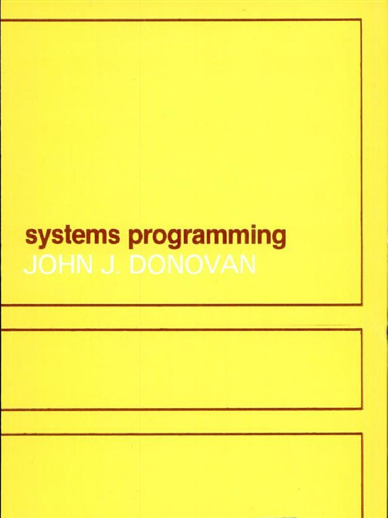 D m dhamdhere systems programming and operating systems pdf