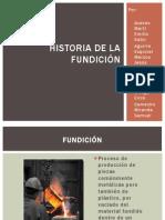 Historia de la Fundición