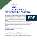 Interruptores y Sensores de Posicion